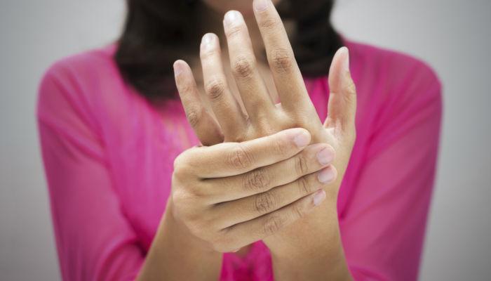 Pain in hands